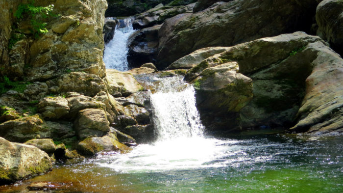 7.  Swimming holes in Montgomery Center.
