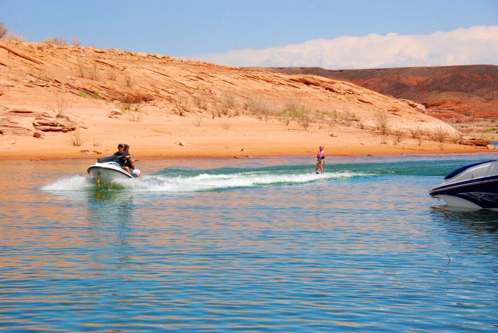 3. Learn how to water ski!