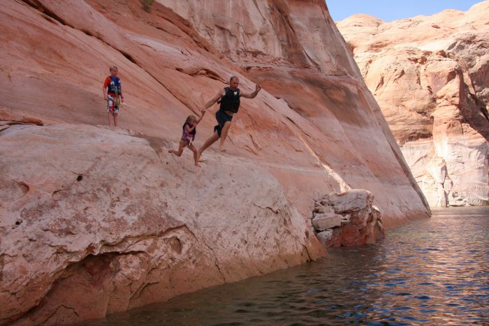 14. Do some cliff diving.
