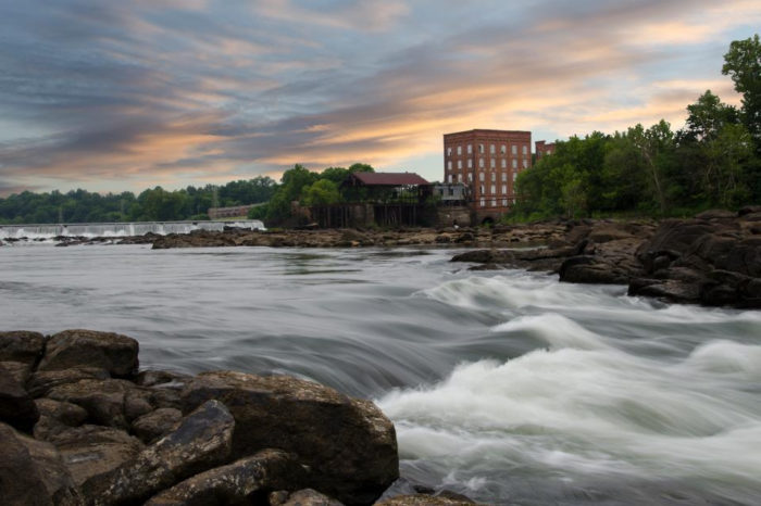1. The Diving Rock, Chattahoochee River
