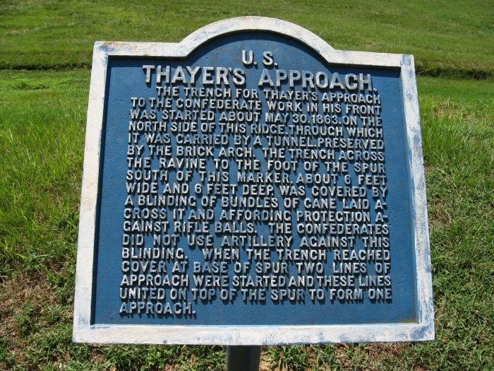 Thayer's men tried to attack the Confederacy on May 19th and again on May 22nd; however, both attempts were unsuccessful.