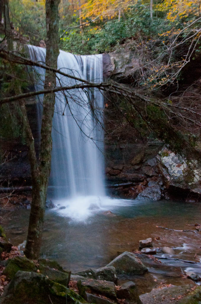 ...leaving you breathless. Cucumber Falls stands at 30 feet tall.