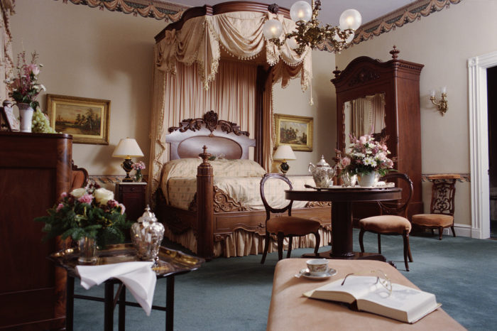 Over the years, guests have claimed they were woken up in the middle of the night by the general, who appeared to be checking on them in their rooms.