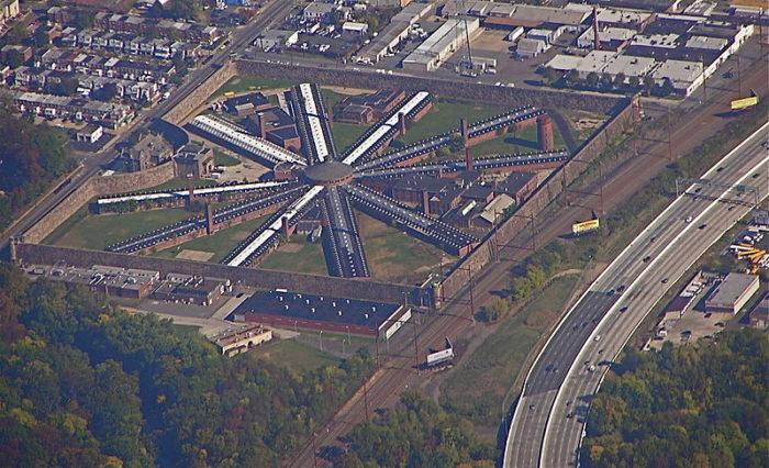 8. Holmesburg Prison, Philadelphia