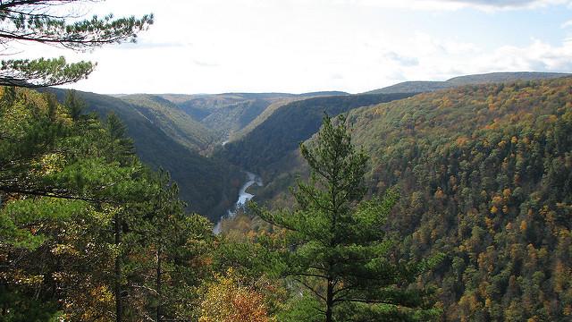8. Pine Creek Gorge, Wellsboro
