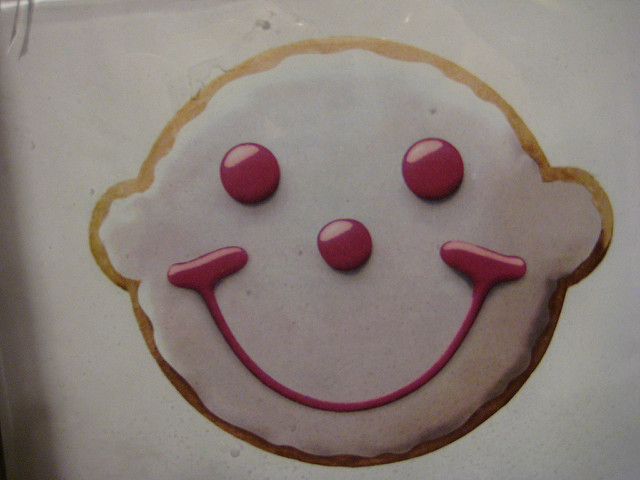 8. Smiley Cookie