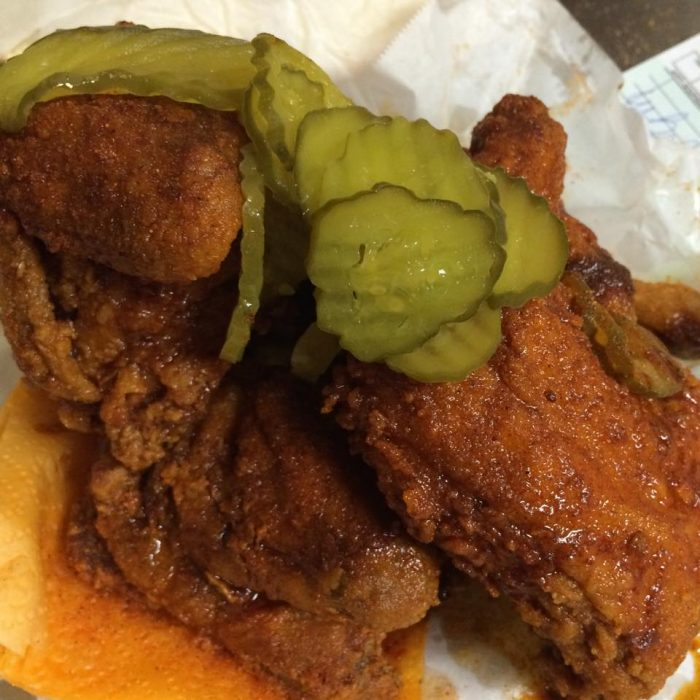 8. Hot Chicken from Prince's Hot Chicken
