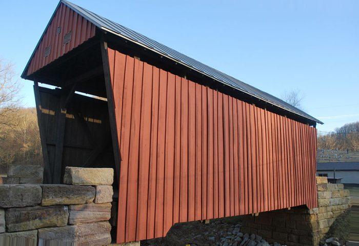 4. Center Point Covered Bridge, Doddridge County