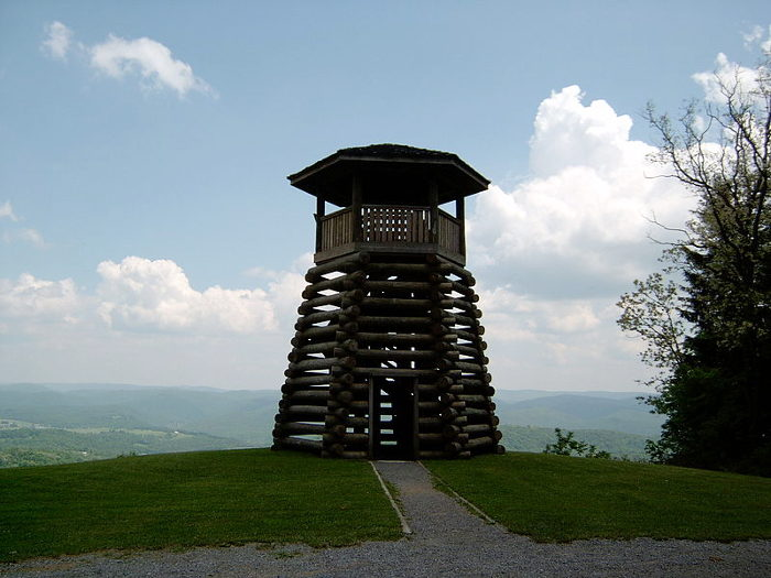 14. Droop Mountain Battlefield State Park