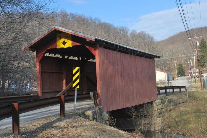 1. Fish Creek Covered Bridge, Wetzel County