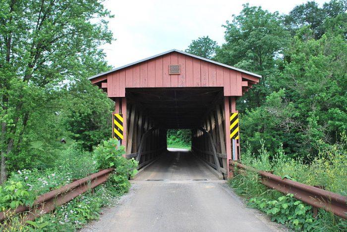 7. Sarvis Fork Covered Bridge, Jackson County