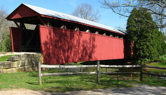 6. Staats Mill Covered Bridge, Jackson County
