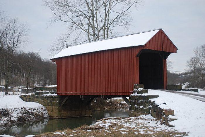 5. Walkersville Covered Bridge, Lewis County