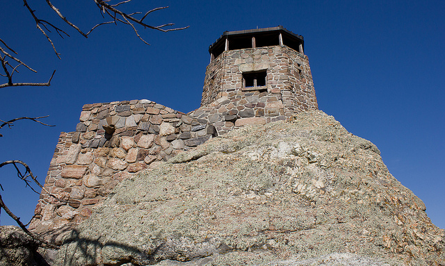 4. Climb to the top of Harney Peak.
