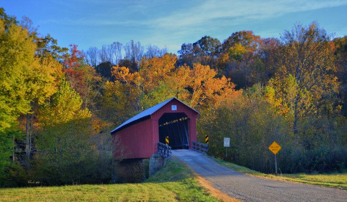 15. Drive through as many covered bridges as possible. We've got plenty and they're beautiful.