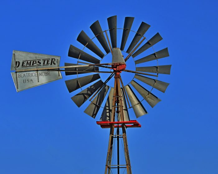 19. This lovely Dempster windmill - built in Beatrice - now resides at the Gage County Historical Society Museum in Beatrice.