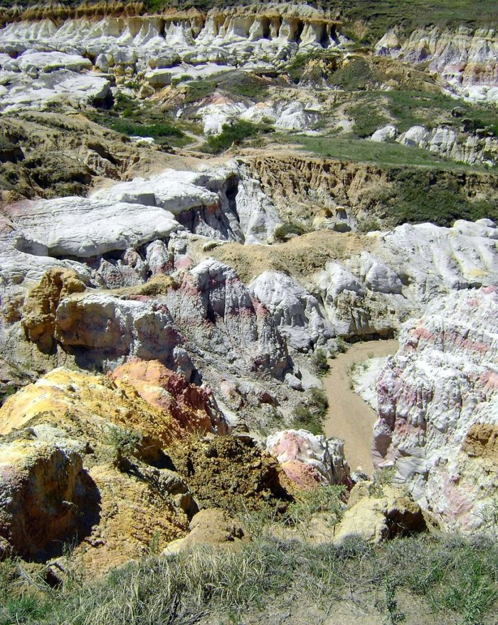 7. Geology time! Let's meet at the Calhan Paint Mines Archeological District...