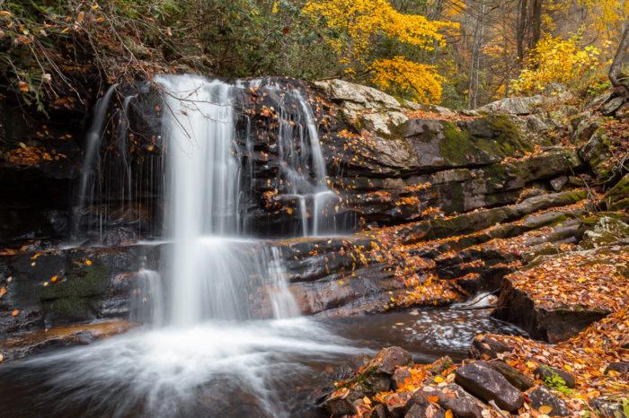 5. Straight Branch Falls