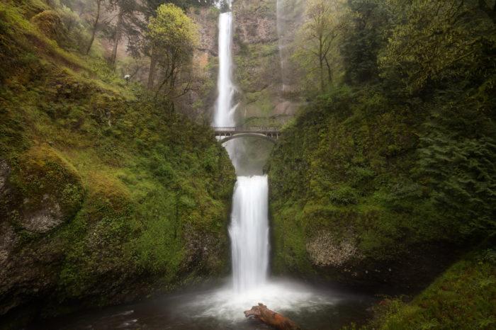1. Multnomah Falls