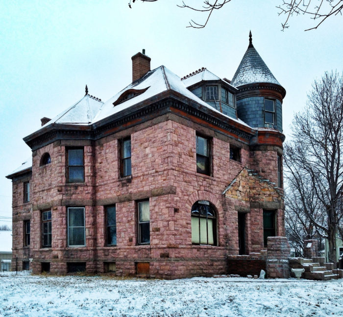 5. The Avery House and its unique attributes - like an old, mini castle
