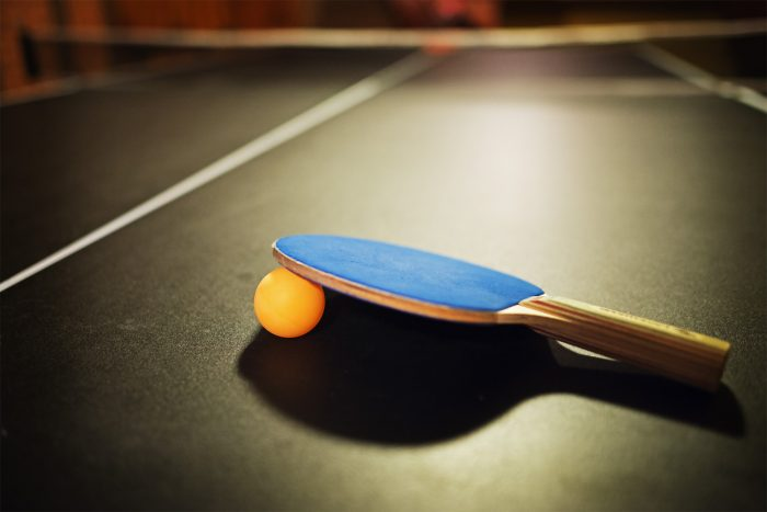 5. Play an epic match of ping-pong. Or at least watch the New Girl episode where he does.
