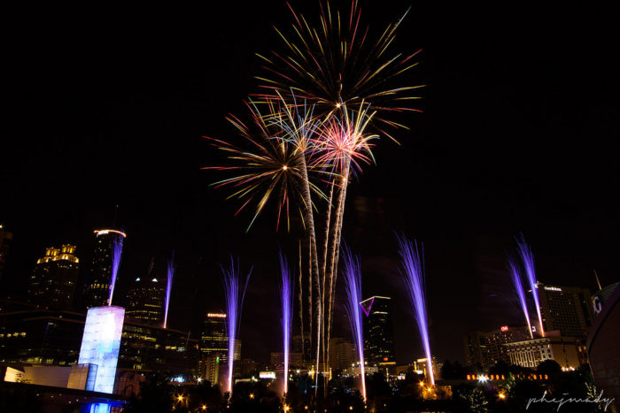 1. Centennial Olympic Park's Fourth of July Celebration: Gates Open 6pm on July 4th, 2016