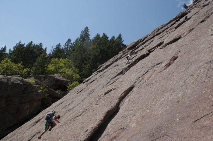 9. Bouldering the Flatirons