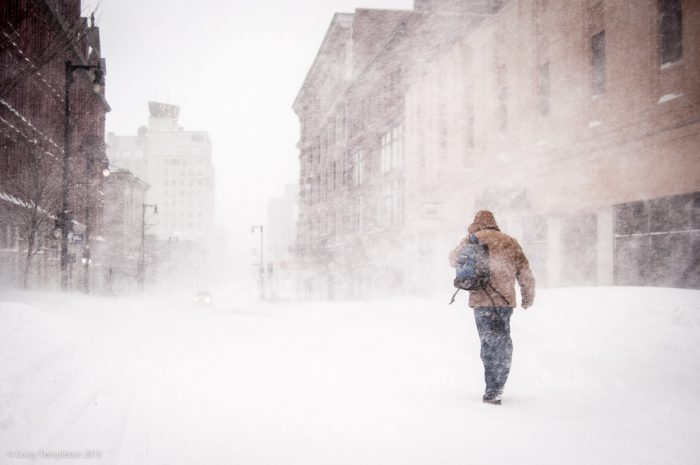 10. Making plans that require walking during the winter.