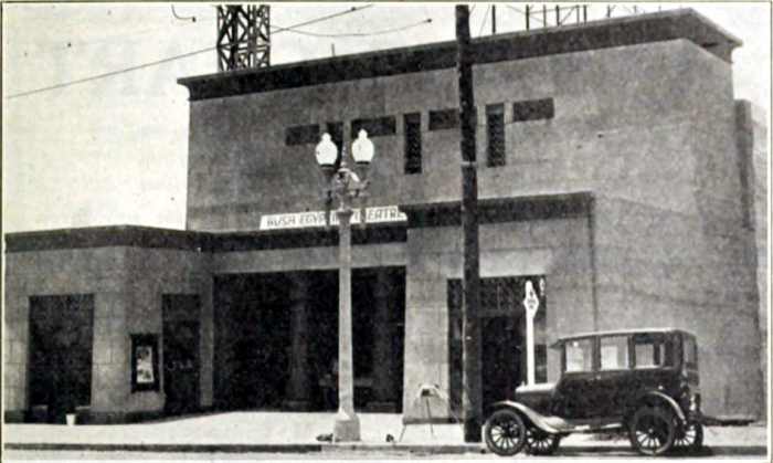 5. The Egyptian Theatre as photographed in 1926 in San Diego shortly after its grand opening.