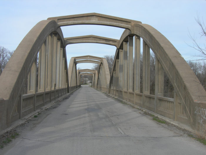 6. Verdigris River Bridge (Independence)