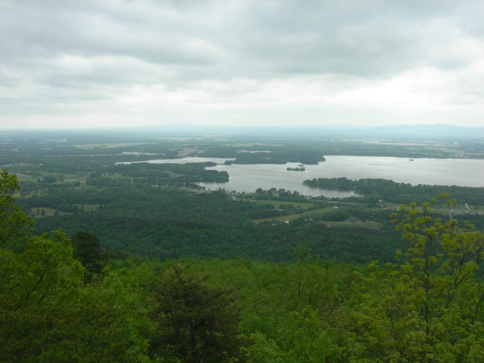 11. This overlook, located in Sand Rock, creates such a breathtaking view of Alabama's Weiss Lake.