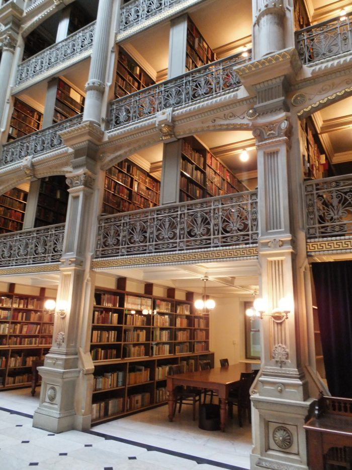 And thousands of books, most of which are reference books from the late 19th century.