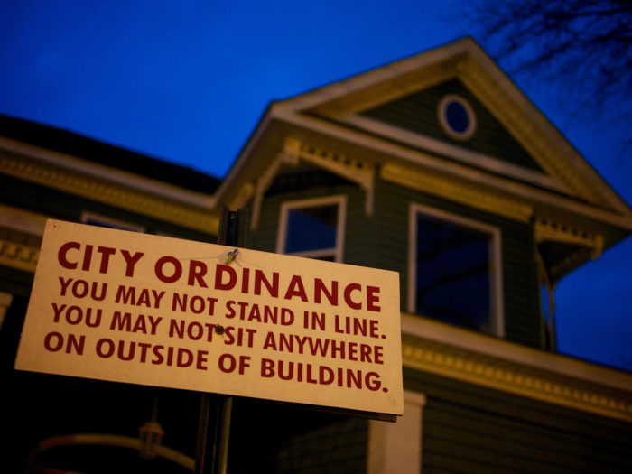 9. The confusing city ordinance sign that makes you say...well, nothing. No one can reply when they're this confused.