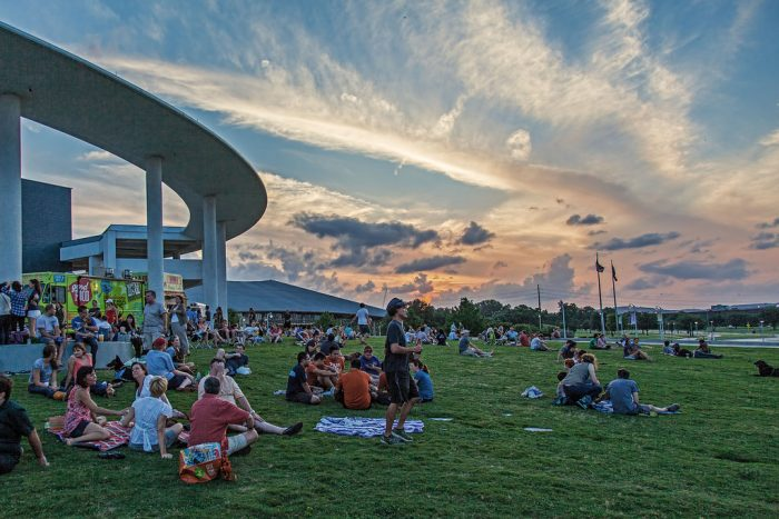 4. Grab your pals and order from every food truck on Trailer Tuesdays at the Long Center.