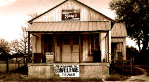 This Tiny Texas Ghost Town Got A Second Chance At Life