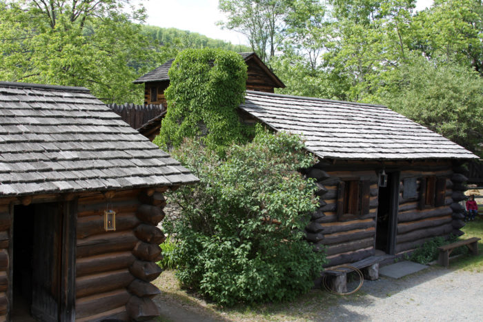 6. Log cabins originated in Delaware.
