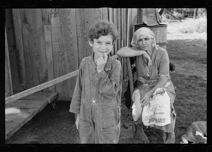 20. The wife and child of a sharecropper in Tangipahoa Parish, Louisiana.