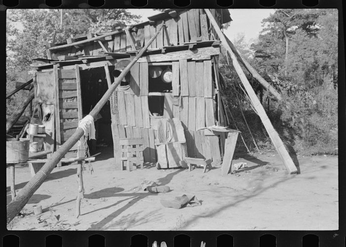 19. A squatter's home in Arkansas.