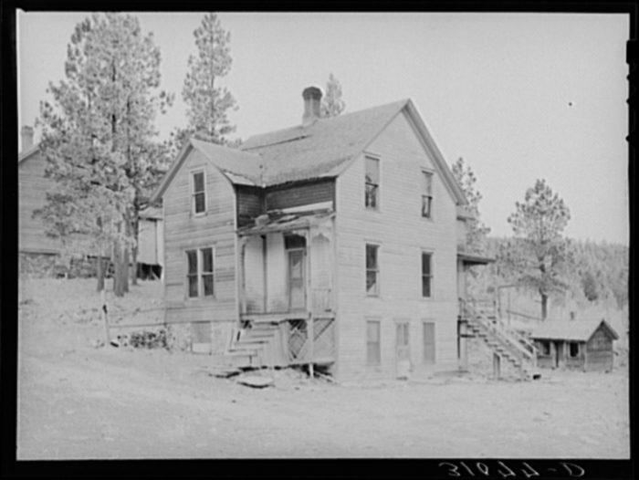 9 vintage photographs of south dakota homes from the 1930s for South dakota home builders