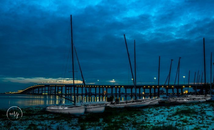 The mysterious light has been spotted moving across the bay between Biloxi and Ocean Springs long before the invention of electricity.