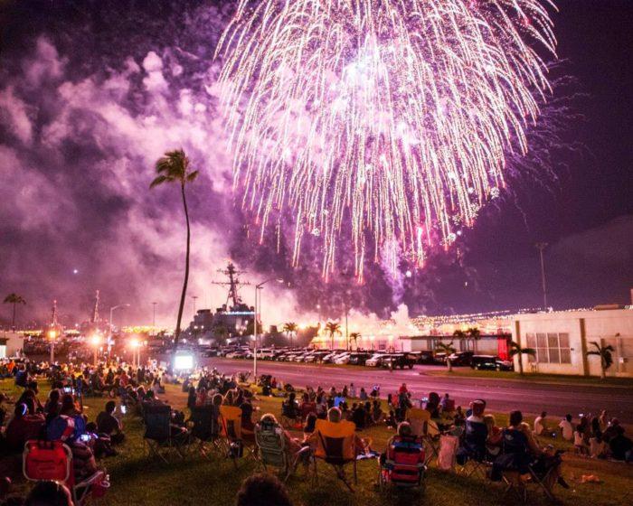 9. 4th of July Celebration at Ward Field, Oahu
