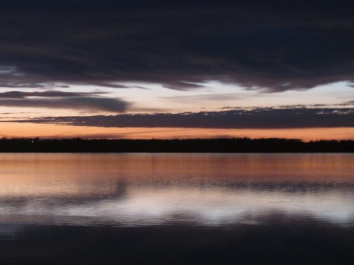 9. The beautiful sunrises.