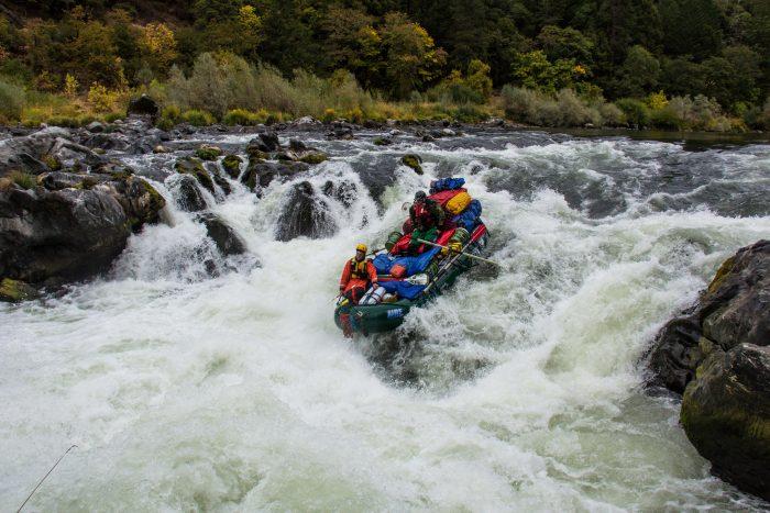 3. Go rafting.