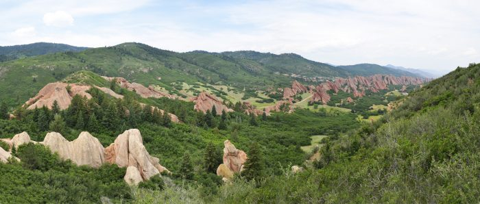 10. Fountain Valley Trail and Carpenter Peak Trail at Roxborough State Park