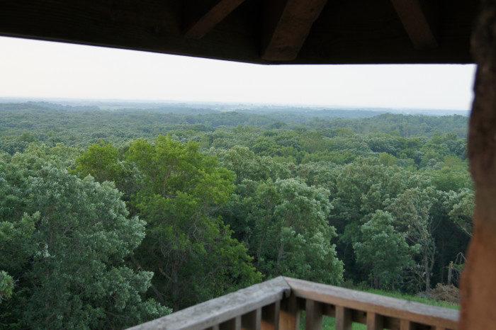 11. Mt. Tom Observation Tower, Sibley State Park