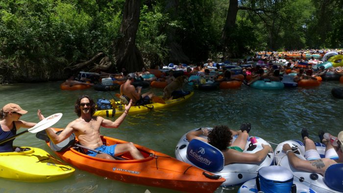 11. And here's something everyone is dying to do at this exact moment - Tubing and floating the river. Alcohol optional.