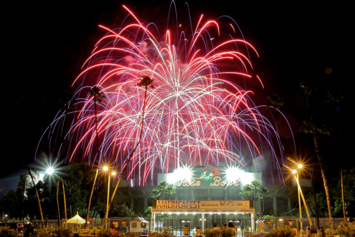 5. An electric night of fireworks at The Rose Bowl Stadium should be tops on your list this holiday. Fireworks show begins at 9pm.
