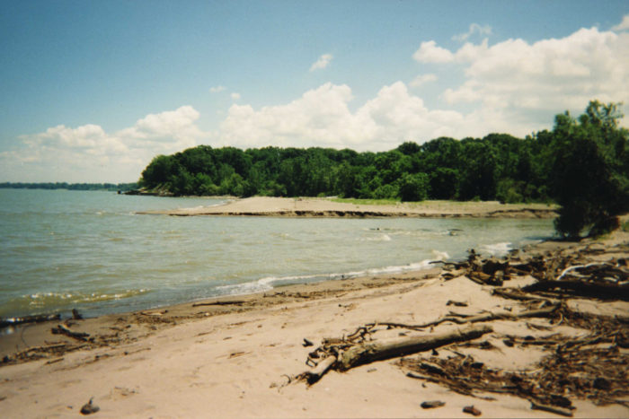 8. And there's always the shores of Lake Erie when you're really, really longing for the ocean.