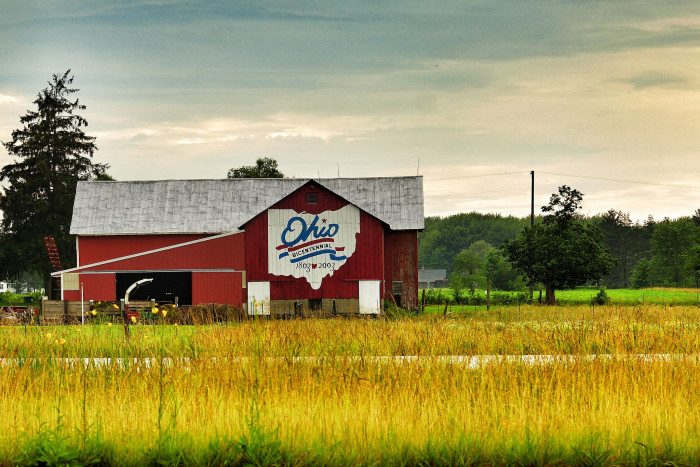 16. Also, look for the Bicentennial Barns, and stop to photograph them.