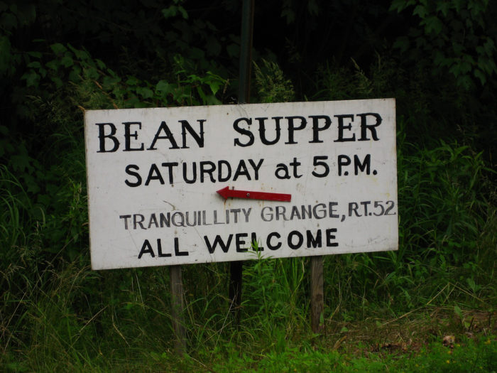 7. The wrath of a mother after a Grange bean supper.